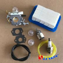 Carburetor & Air Filter F Echo PB602 PB603 PB610 PB611 PB6000 ZAMA C1M-K... - $14.16