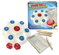 Name That.! Person, Place, Thing.! Dice Game - $19.26