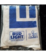 Bud Light NFL Licensed Souvenir Hanes T-Shirt Super Bowl LII - XL - Orig... - $13.12