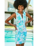 Lilly Pulitzer Delila Mandevilla Baby Hip Nautic Stretch Shift Dress 12 14 16 - $185.00