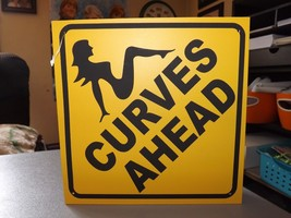 """Chesapeake Bay J. D. Yeatts & Sons Plaque -- NEW --""""Curves Ahead"""" - $6.64"""