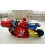 2006 Bandai, Power Rangers, 11inx5in Biker-Robot - $14.20