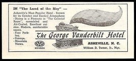 George Vanderbilt Hotel Asheville North Carolina 1953 Roadside Photo Ad ... - $10.99