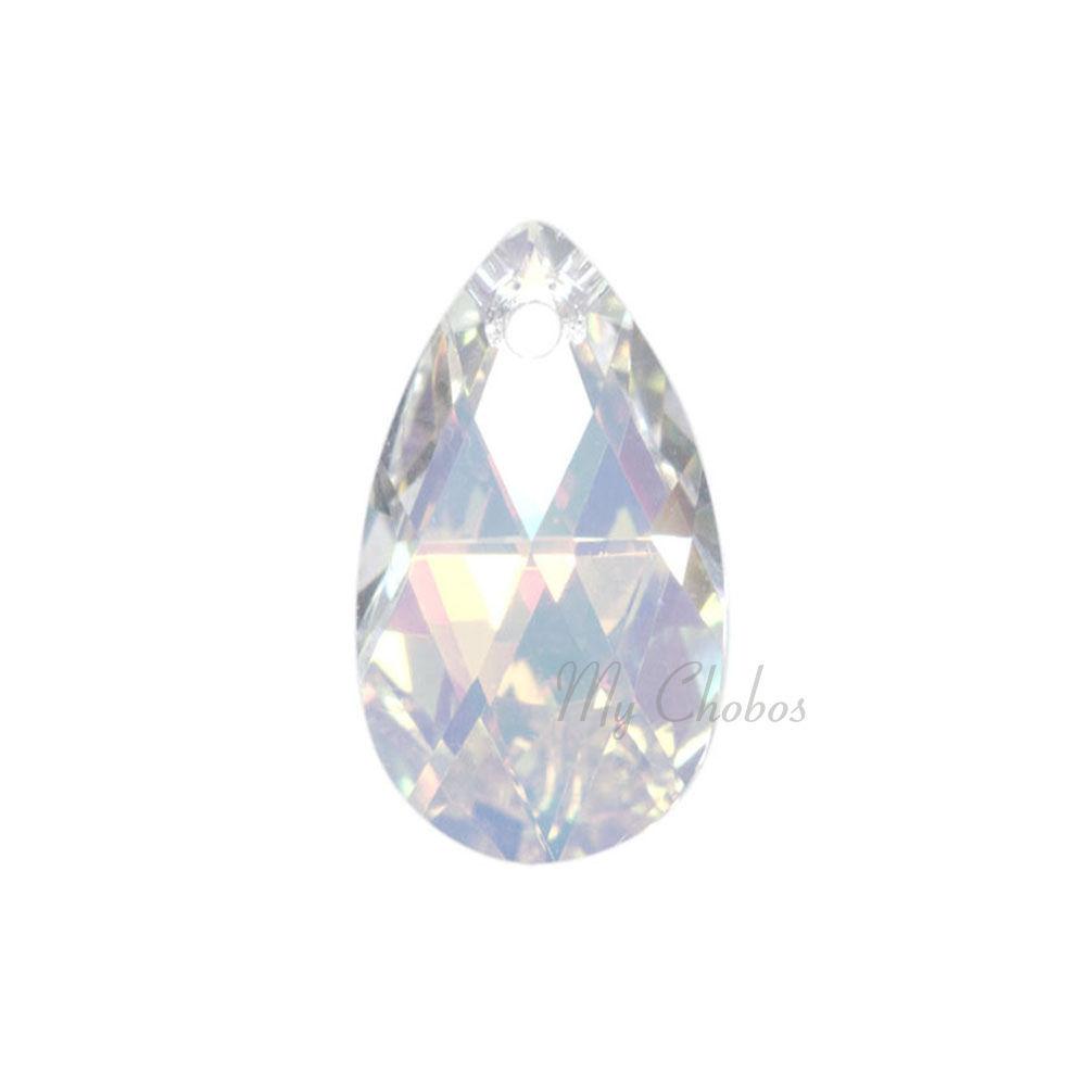 "Swarovski Pendants jewelry necklace making CRYSTAL AB (001 AB) ""Pick Your Shape"" image 4"