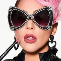 Sen Maries Diamond Sunglasses Women  Luxulry Brand  Butterfly Oversized Sunglass image 1