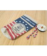 Titos Vodka Bottle Bag Drawstring America Red White Blue USA Flag 2020 T... - $9.49