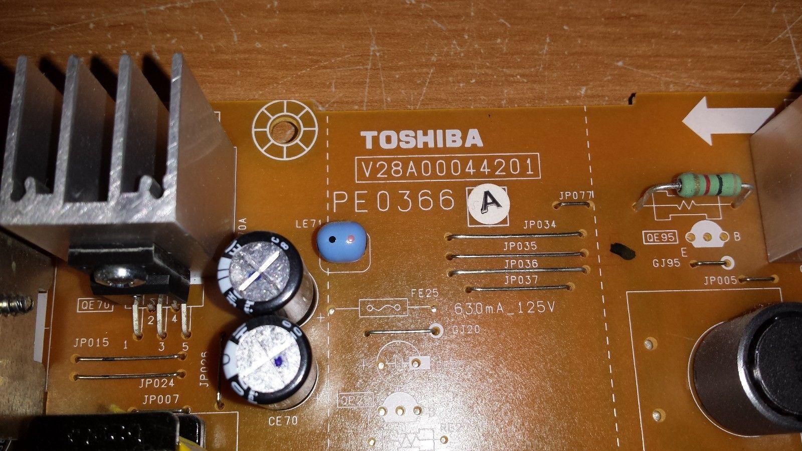 Toshiba 46LX177 - Low B Board (PE0366A)
