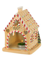 Spode Christmas Tree 7 Inch Gingerbread House Tealight - $60.00
