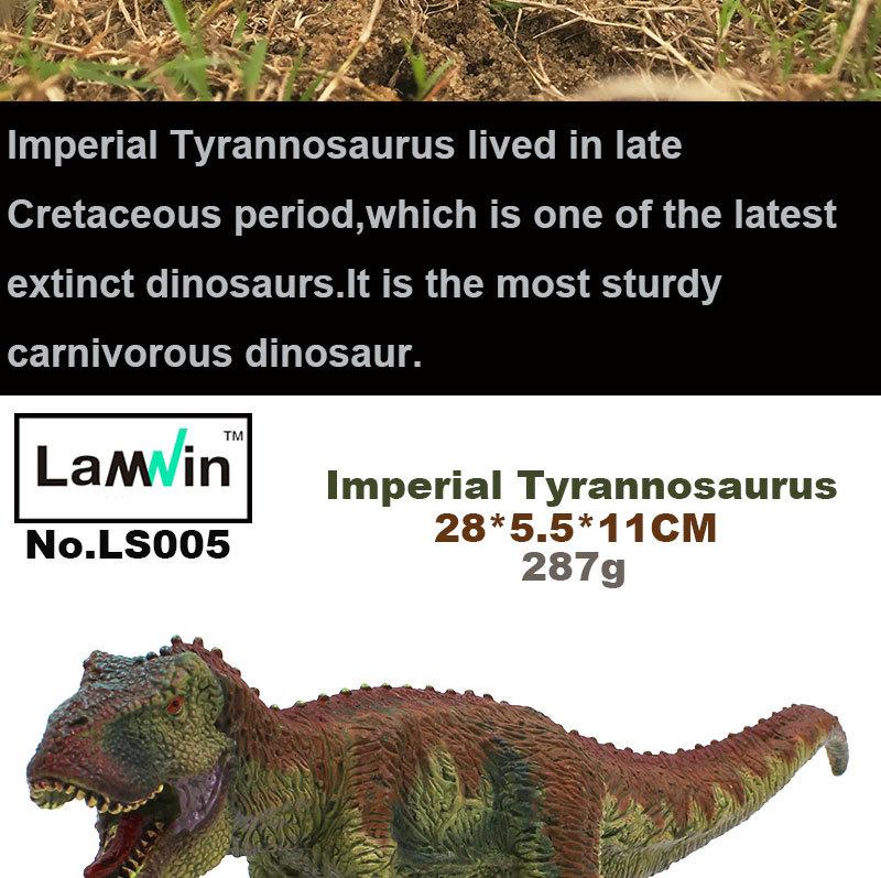 1 pcs King T-Rex Model Big Plastic Dinosaur Toy, LW Animal Figure High Quality for sale  USA