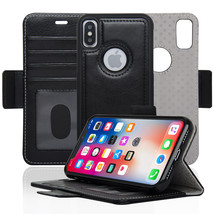 Navor Detachable Magnetic Wallet Case RFID Protection Compatible for iPh... - $17.50