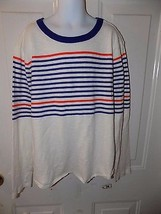 J. Crew Crewcuts Striped Long Sleeve Shirt Size 12 Boy'S EUC - $16.91