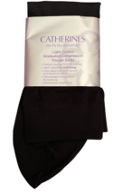 Catherines L/XL BLACK Light Control Graduated Compression Trouser Sock 8... - $21.80