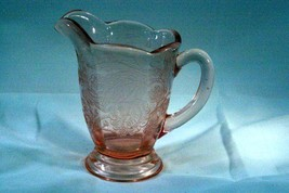 Paden City 1935 Peacock And Wild Rose Cheriglo AKA Nora Bird Creamer - $41.57