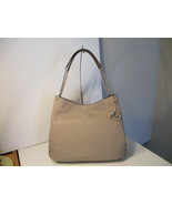 Authentic Michael Kors Lillie Large Shoulder Tote Truffle Leather New W/... - $197.99