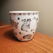 Coffee Mug, Milly Green cat breeds, kittens and mice, cat lady gift, brand new image 3