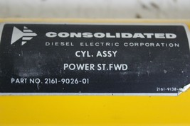 Consolidated 2161-9026-01 Hydraulic Cylinder Power ST.Fwd New image 2
