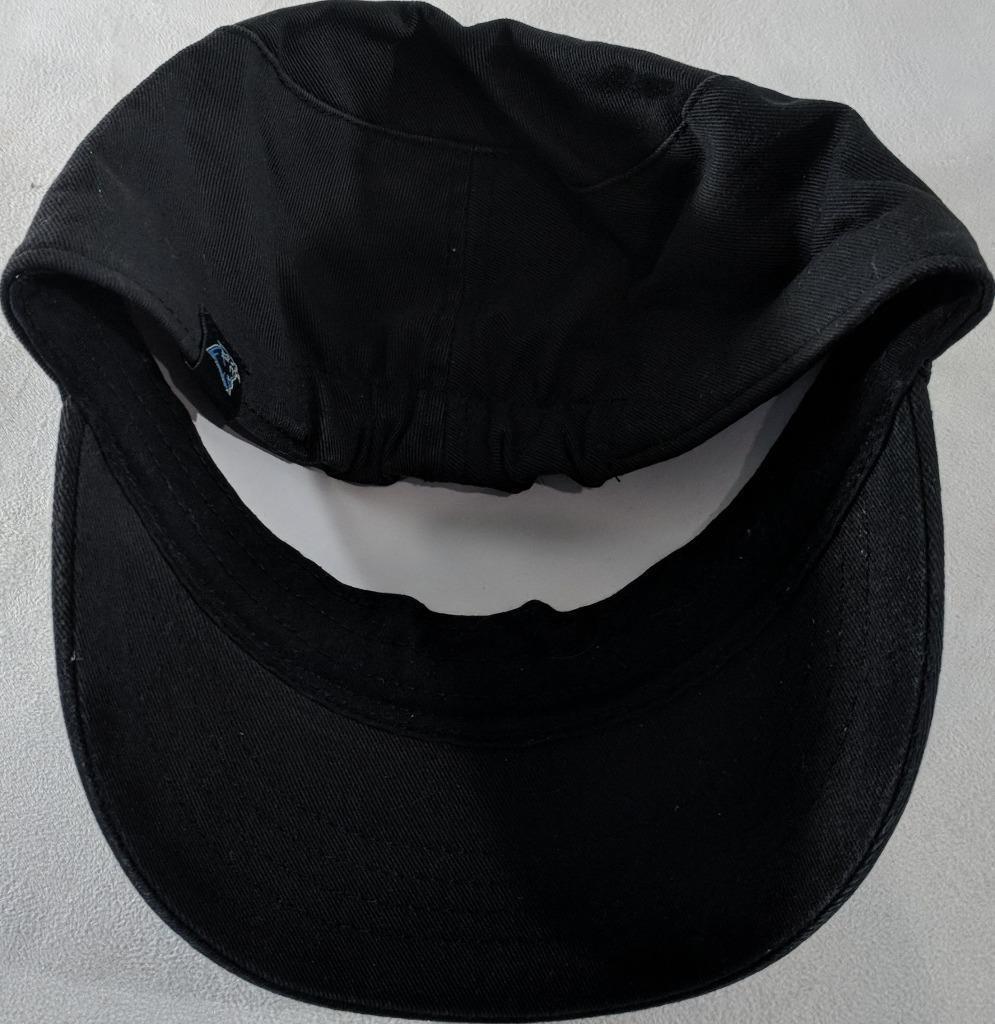 LZ NFL Team Apparel Girl's One Size Carolina Panthers Baseball Hat Cap NEW i22 image 3