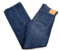 Big Star 1974 Men's Jeans Pioneer Regular Boot Distressed Medium Wash