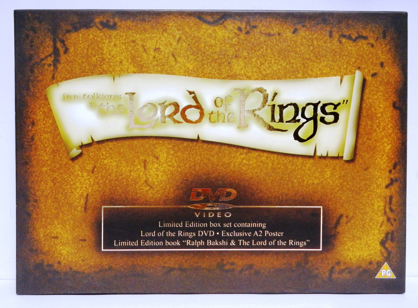 Primary image for Lord of the Rings LImited Edition Box Ralph Bakshi Animated UK Edition 2001