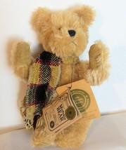 Vintage Boyds Mohair Teddy Bear Arthur C Bearington 590060-01 Mocha Beig... - $29.40
