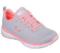 13070 Grigio Rosa Skechers Scarpe Memory Foam Donna Sport Comfort Sneake... - $39.72