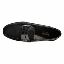 Mens Weejuns G.H. Bass Leather, Velvet shoes Penny Loafer 70-60424 Larson Black - $125.00