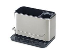 Joseph 85134 Surface Sink Caddy Stainless Steel Sponge Holder Organizer - $23.49