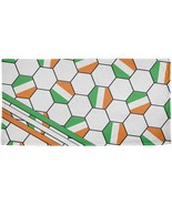 World Cup Ireland Soccer Ball All Over Beach Towel - $26.95