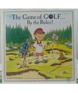 The Game Of Golf By The Rules - Golf Trivia Game  New, Never Played 1989 - $19.79