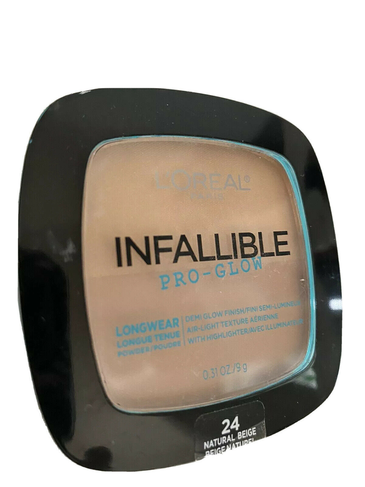 L'Oreal Cosmetics Infallible Pro Glow Longwear Pressed Powder 24 Natural Beige  - $12.86