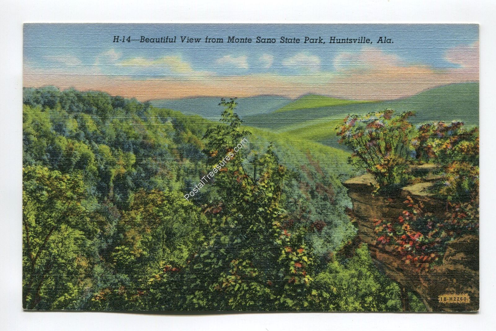 Primary image for Beautiful View from Monte Sano State Park Huntsville Alabama