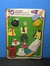 MOC SEALED Vintage 1960s Remco Heidi Fashions 10 Doll Outfits Fits Tiny ... - $85.00