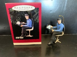 Hallmark Keepsake Christmas Ornament Mr Spock Star Trek 1996 - $12.50