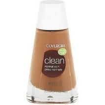 Covergirl Clean Liquid Foundation- 166 Tawny - $2.99