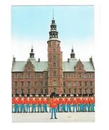 Copenhagen Denmark Royal Guard front of Rosenborg Palace Vntg 1984 Postc... - $9.95