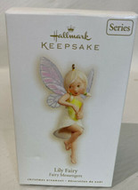 Lily Fairy 2008 Hallmark Keepsake Ornament Fairy Messengers #4 in the Se... - $19.70