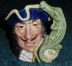 "Royal Doulton ""Captain Hook"" Peter Pan Character Toby Jug D6601 VERY RAR... - $203.69"