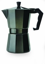 Primula 6 Cup Aluminum Stovetop Espresso Maker - Black - $17.99