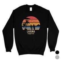 365 Printing Retro Beach-Laguna Cities Hometown Trip Unisex SweaShirt So... - $20.99+