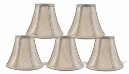 Urbanest 6-inch Chandelier Lamp Shade, Champagne Set of 5 - $39.76