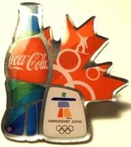 Vancouver Winter Olympics Pin 2010 Coca Cola Snowboarding - $11.32