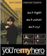 You're My Hero Eres Mi Heroe DVD Toni Canto Manuel Lozano COMPLETE RARE OOP - $9.19