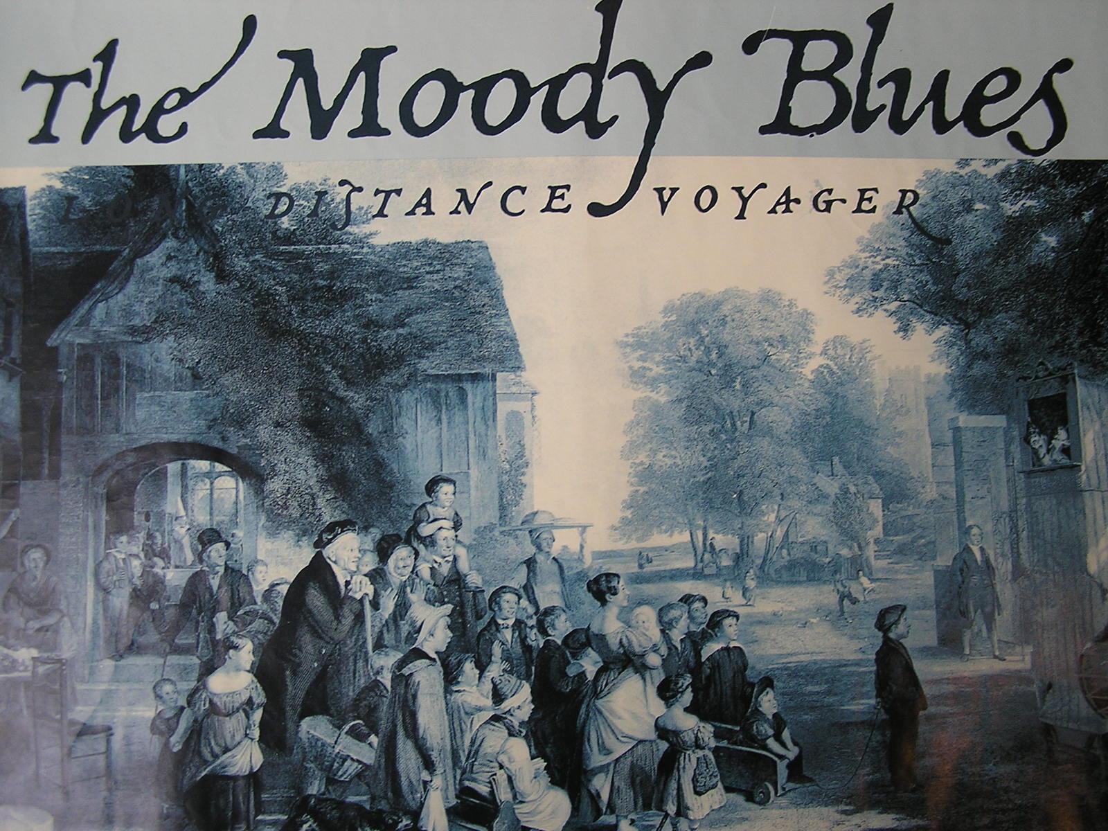 THE MOODY BLUES VINTAGE ORIGINAL CONCERT TOUR CLOTH BACKSTAGE PASS