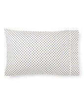 Ralph Lauren Charlotte Standard Pillowcase Cream Navy - $46.72