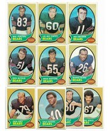 1970 Topps Chicago Bears Team Set with Gale Sayers and Dick Butkus - $32.10