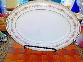 "Noritake Glenwood 5770 Oval 12"" Platter Vintage Beautiful Pattern - $19.75"