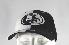 San Francisco 49ers White/Black NFL Baseball Cap Stretch Fit - $24.99
