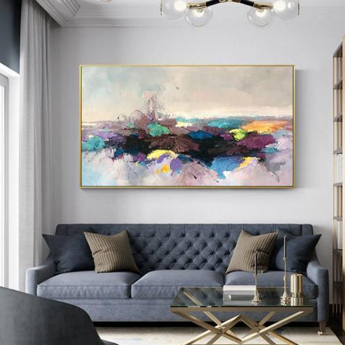 Contemporary Hand Painted Abstract Art Picture Oil Painting AB-00007