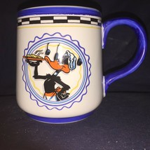 Looney Tunes Daffy Duck bakes a pie ceramic Mug, exclusive for Warner Br... - $8.16