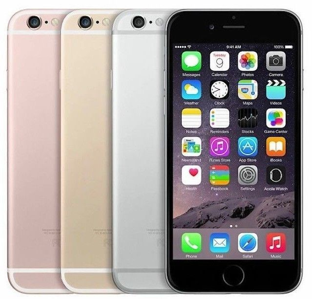 Apple iPhone 6s | 16GB 4G LTE | FACTORY GSM UNLOCKED Smartphone